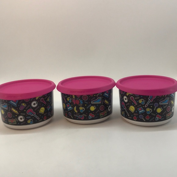 Tupperware Mini One Touch Rock  Set of 3